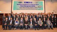 平成28年11月7日(月)に日本原子力研究開発機構(JAEA)廃炉国際共同研究センターの主催で開催された国際カンファレンス「事故廃棄物の安全管理に関する研究カンファレンス(RCWM2016)」 (開催場所:いわき産業創造 […]