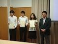 7月22日(土)、弘前大学において開催された「みちのく分析化学シンポジウム2017」に大学院生1名が参加し、ポスターによる研究発表を行ってきました。 タイトルは下記のとおりです。 ・阿部未姫,佛願道男,五十嵐淑郎,高貝慶 […]