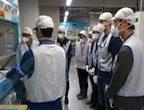 2017年10月25日(水)福島第一原子力発電所の分析ラボを訪問し、見学を行いました。 廃炉作業の現場を視察することにより、様々なことを考える良い契機になりました。